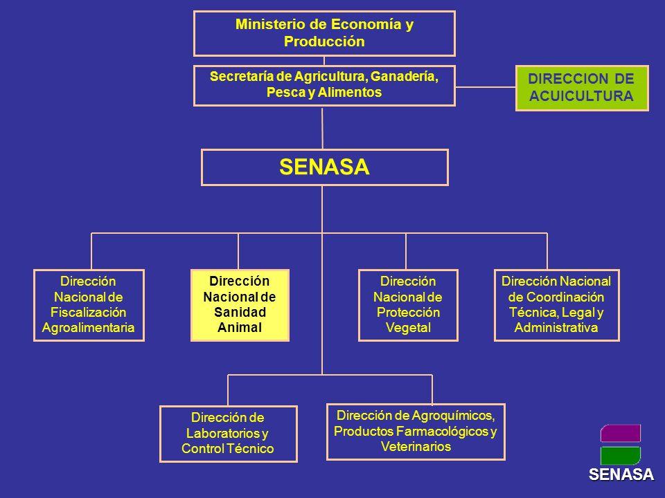 SENASA SENASA Ministerio de Economía y Producción