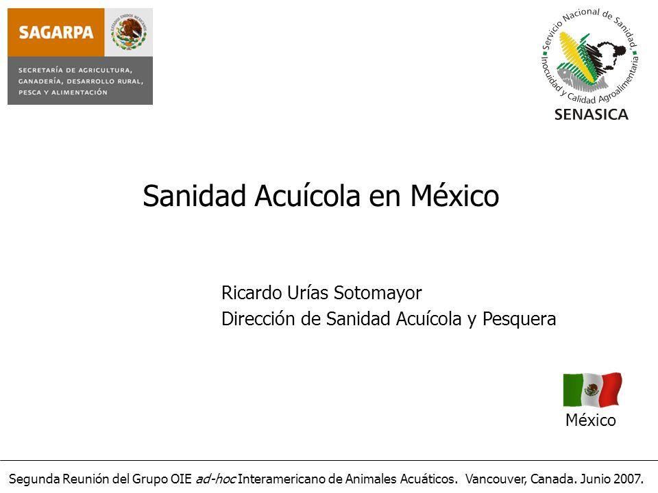 Sanidad Acuícola en México