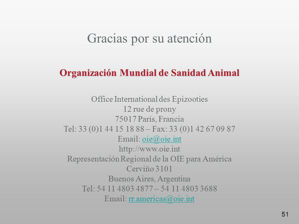 Organización Mundial de Sanidad Animal