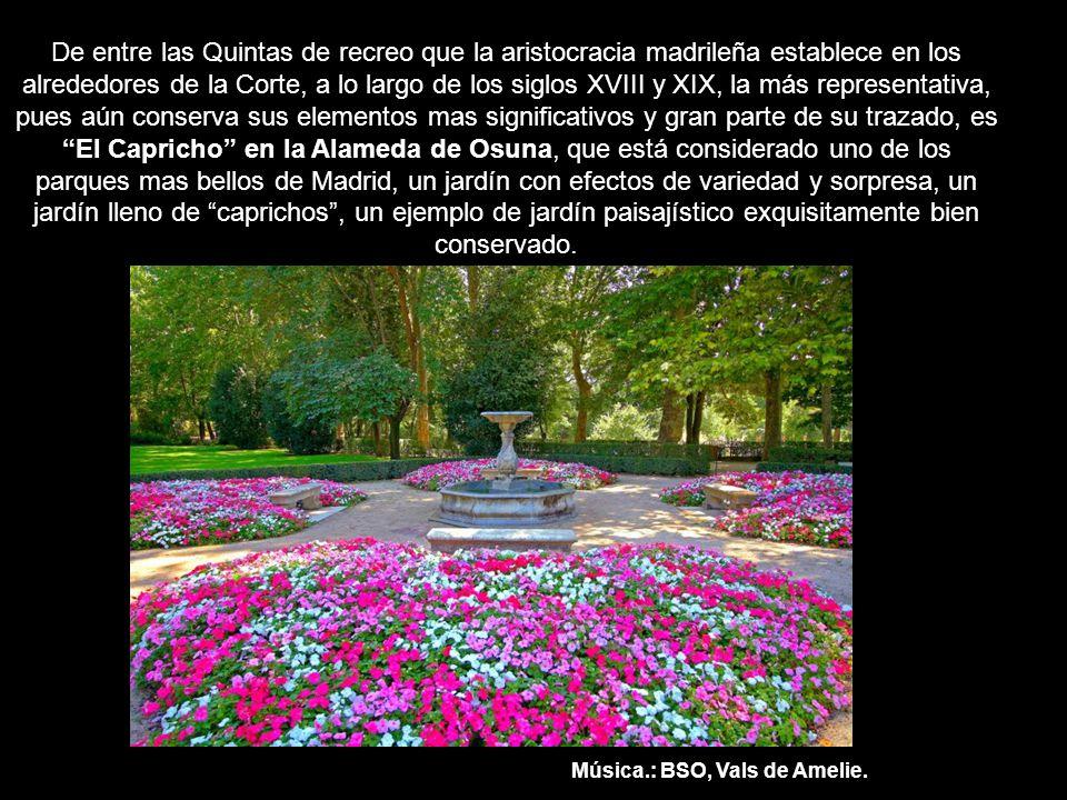 El Capricho De La Alameda De Osuna Ppt Video Online