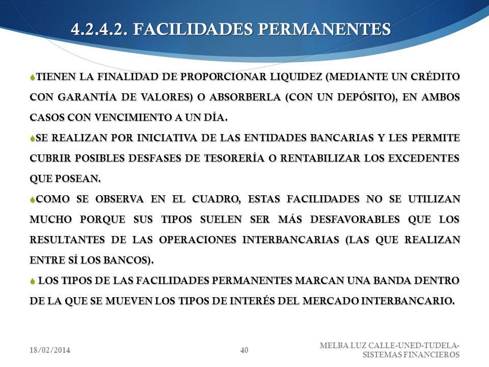 4.2.4.2. FACILIDADES PERMANENTES