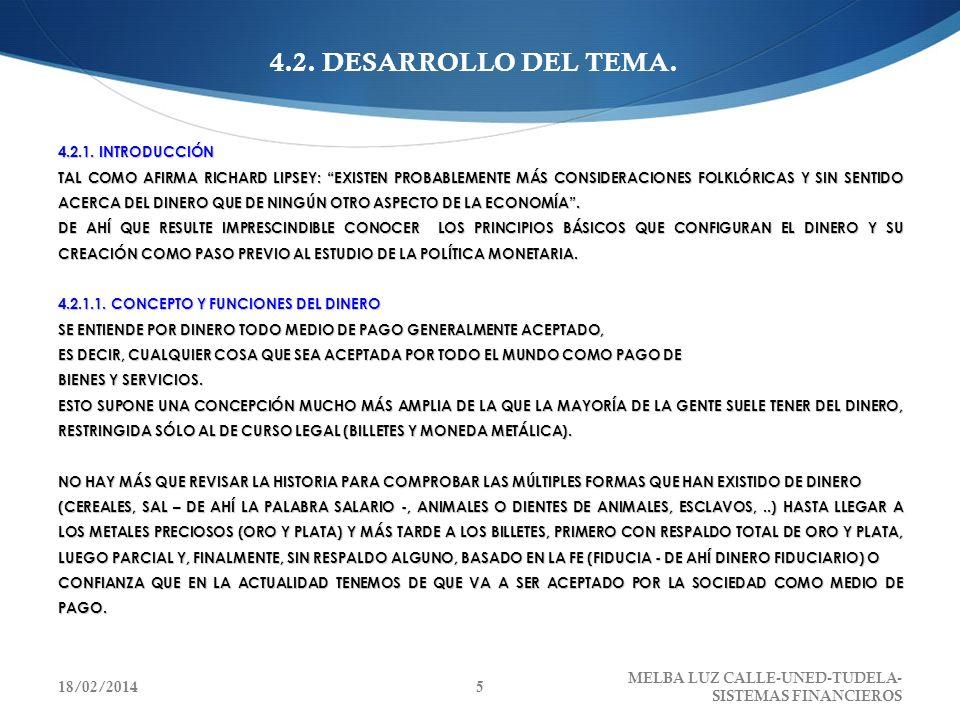4.2. DESARROLLO DEL TEMA.
