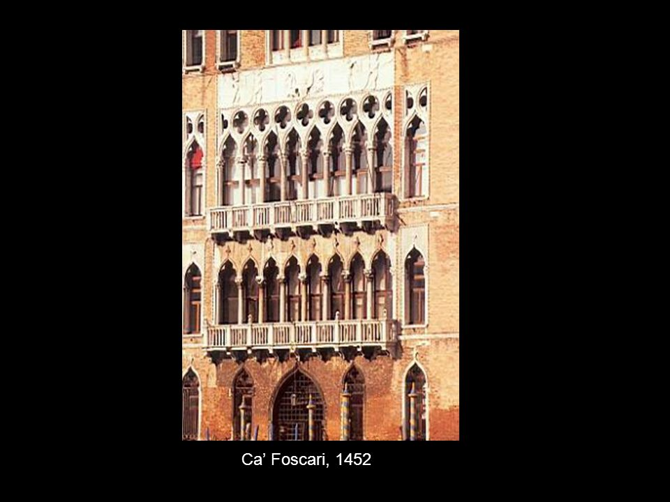 Ca' Foscari, 1452