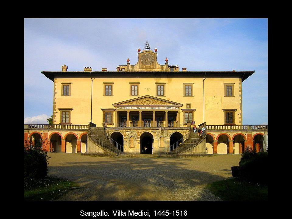 Sangallo. Villa Medici, 1445-1516