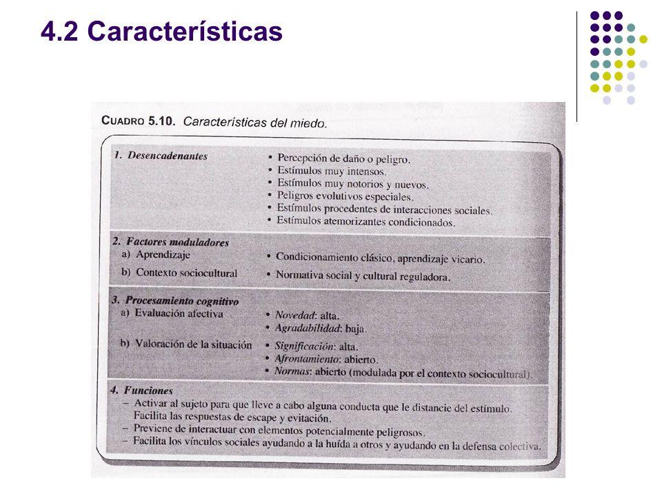 4.2 Características