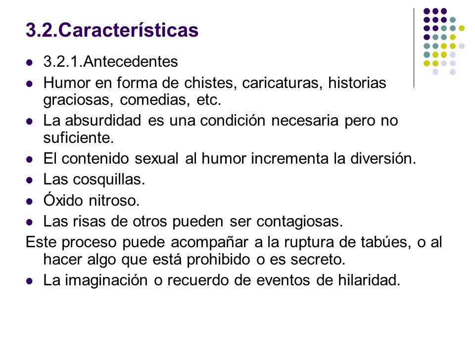 3.2.Características 3.2.1.Antecedentes