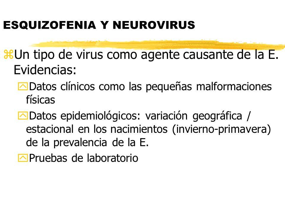 ESQUIZOFENIA Y NEUROVIRUS