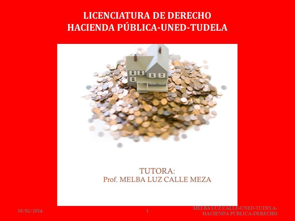 LICENCIATURA DE DERECHO HACIENDA PÚBLICA-UNED-TUDELA