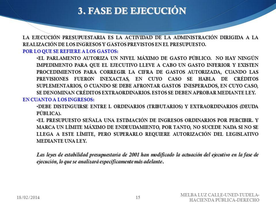 3. FASE DE EJECUCIÓN