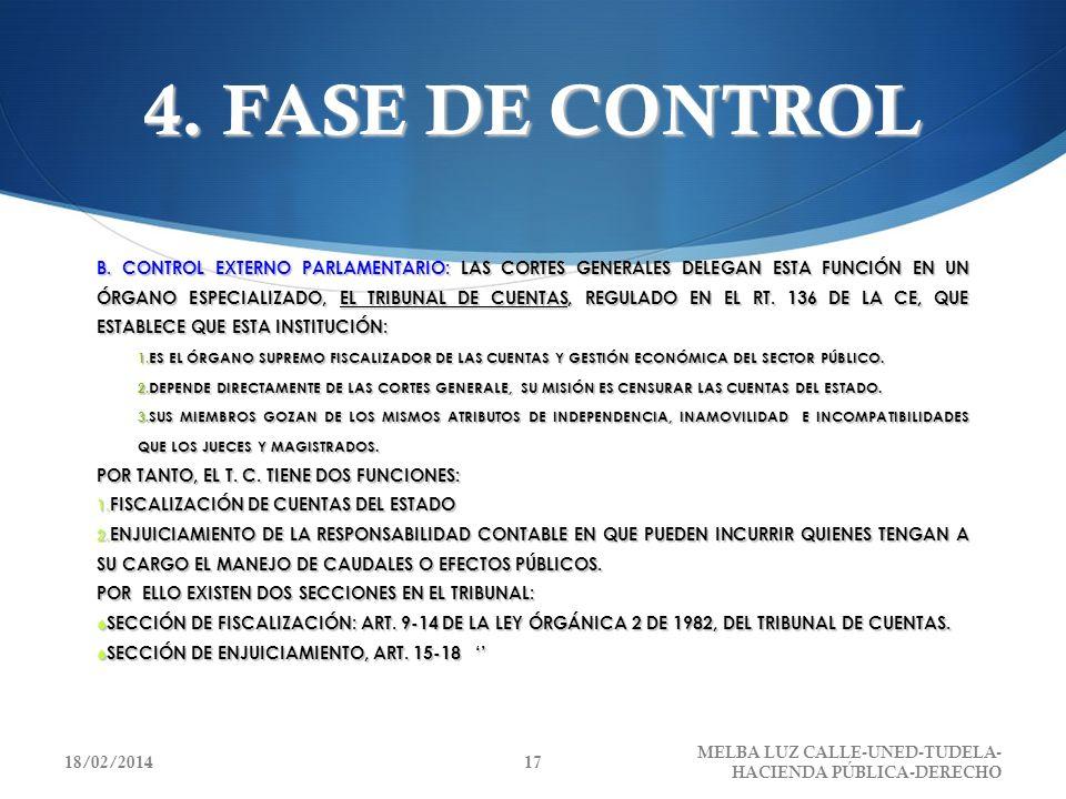 4. FASE DE CONTROL