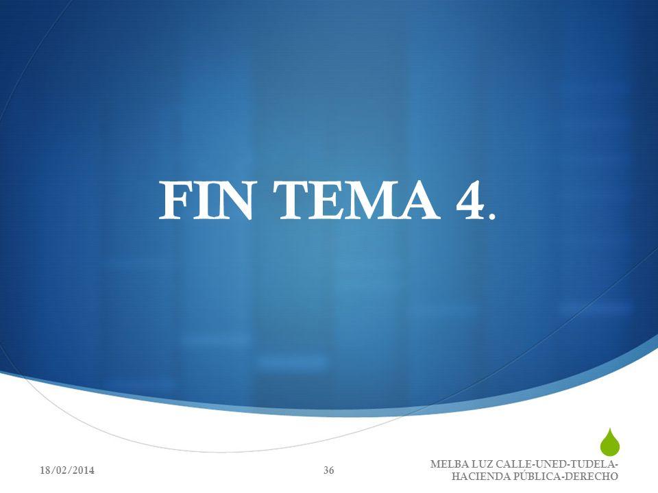 FIN TEMA 4. MELBA LUZ CALLE-UNED-TUDELA-HACIENDA PÚBLICA-DERECHO