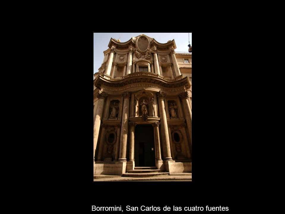 Borromini, San Carlos de las cuatro fuentes
