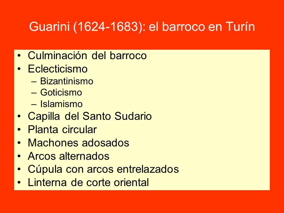 Guarini (1624-1683): el barroco en Turín