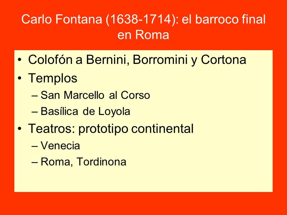Carlo Fontana (1638-1714): el barroco final en Roma