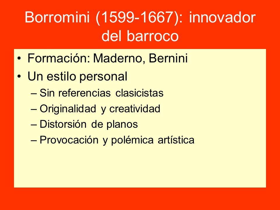 Borromini (1599-1667): innovador del barroco