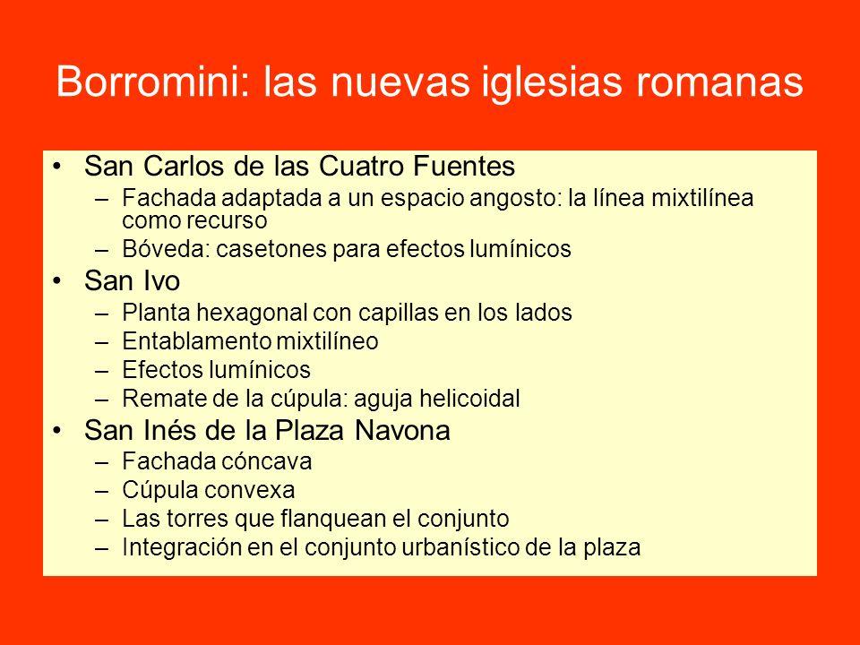 Borromini: las nuevas iglesias romanas