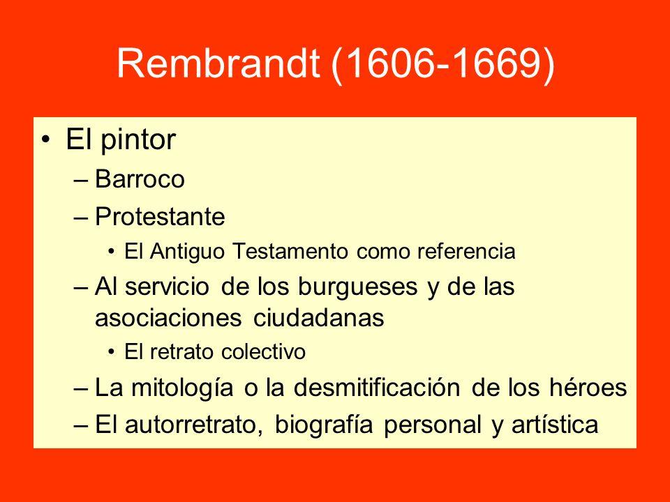 Rembrandt (1606-1669) El pintor Barroco Protestante