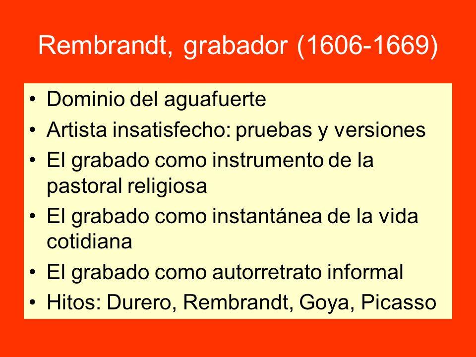 Rembrandt, grabador (1606-1669)