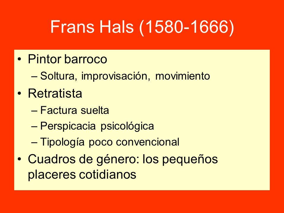 Frans Hals (1580-1666) Pintor barroco Retratista