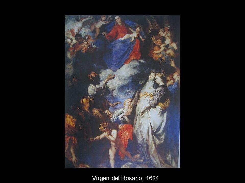 Virgen del Rosario, 1624
