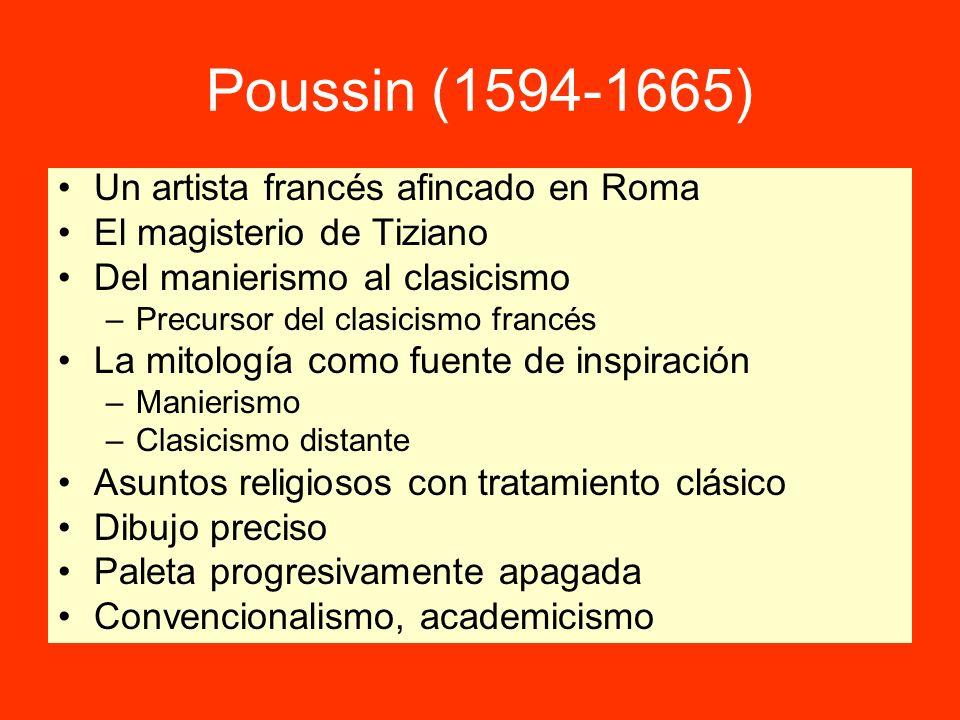Poussin (1594-1665) Un artista francés afincado en Roma