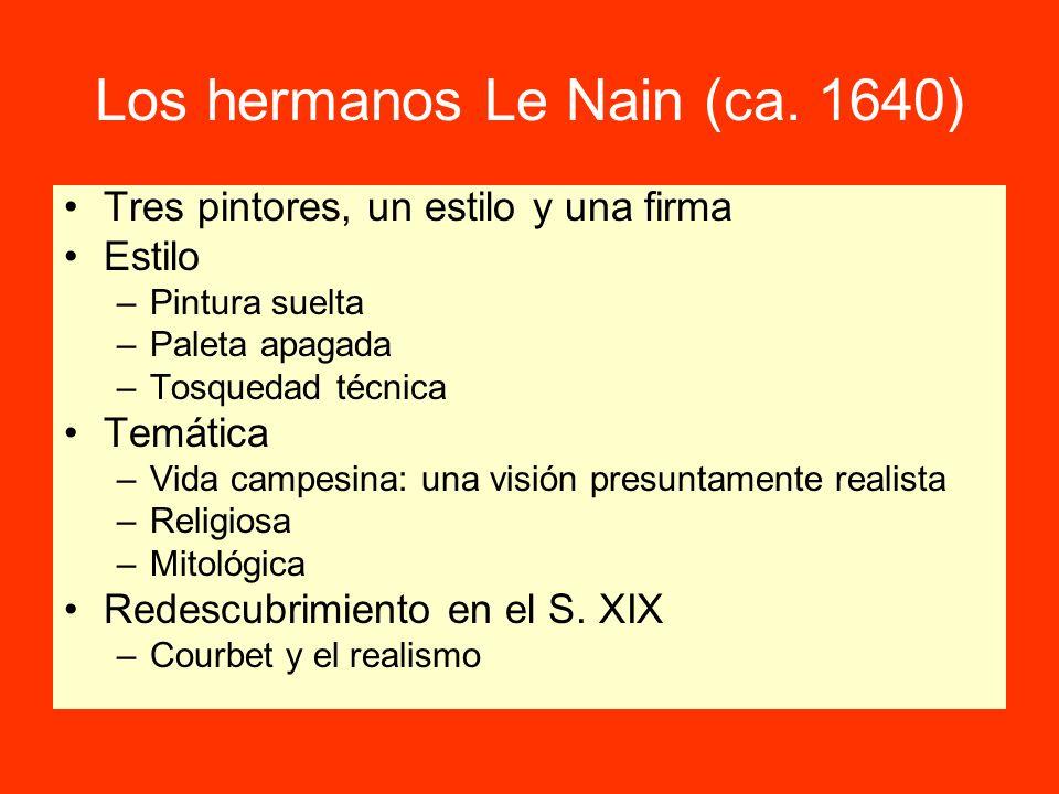 Los hermanos Le Nain (ca. 1640)
