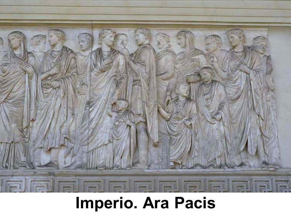 Imperio. Ara Pacis
