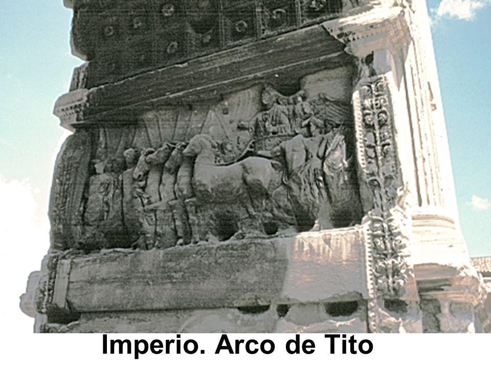Imperio. Arco de Tito