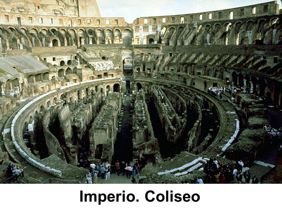 Imperio. Coliseo