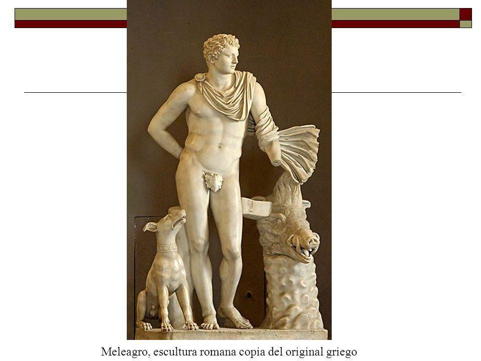 Meleagro, escultura romana copia del original griego