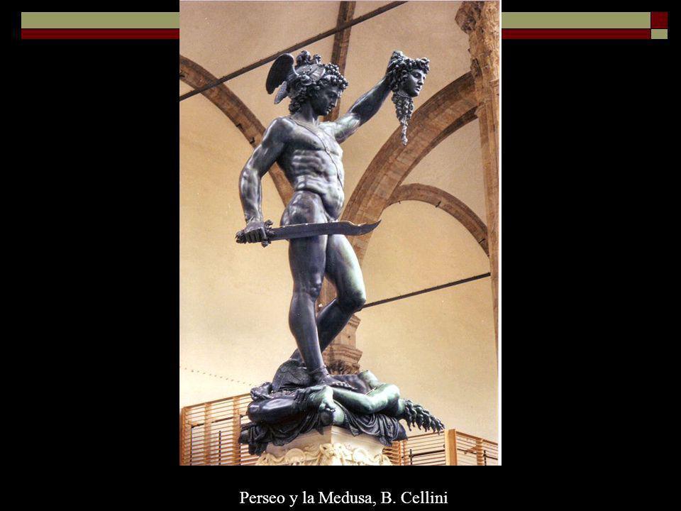 Perseo y la Medusa, B. Cellini
