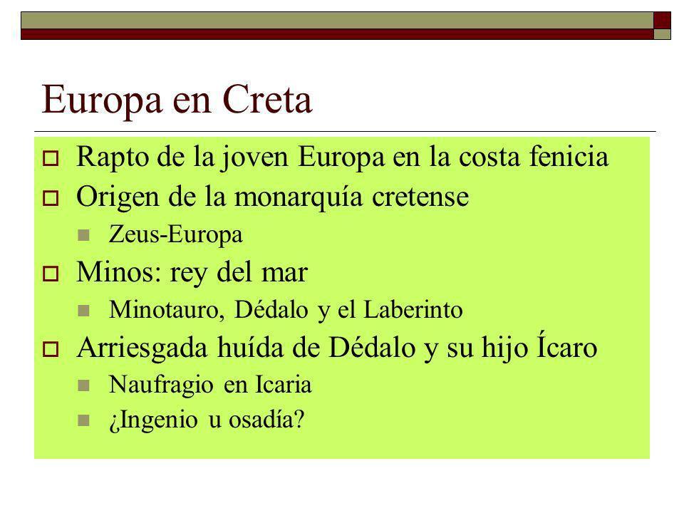 Europa en Creta Rapto de la joven Europa en la costa fenicia
