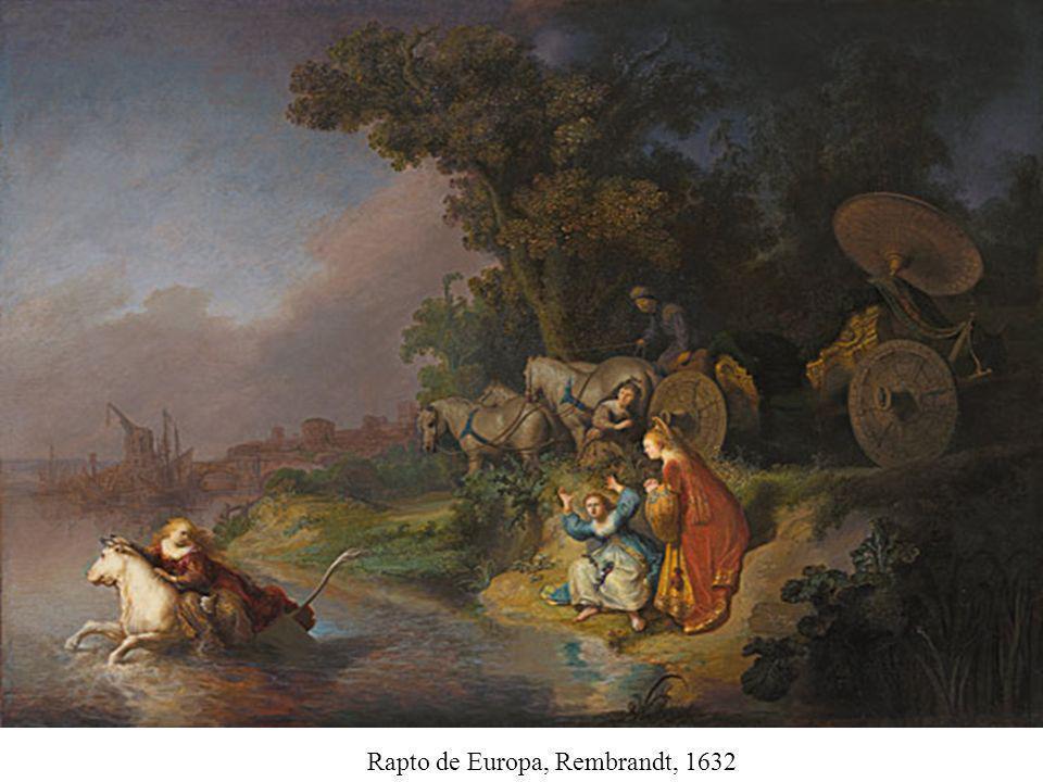 Rapto de Europa, Rembrandt, 1632