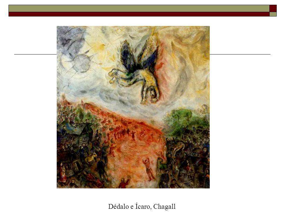 Dédalo e Ícaro, Chagall