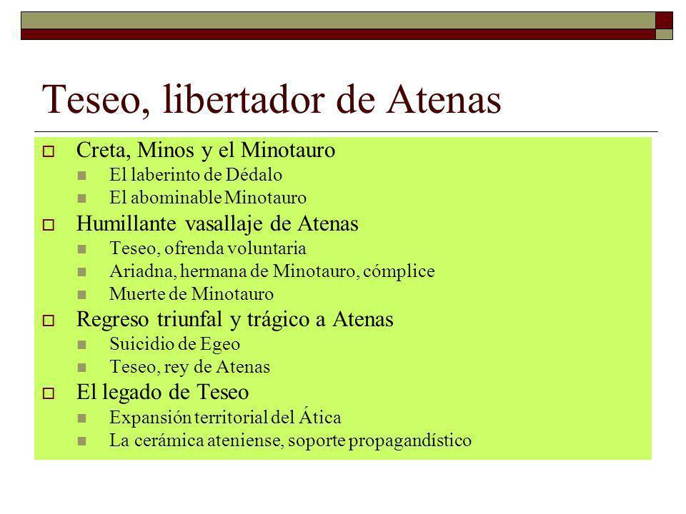 Teseo, libertador de Atenas