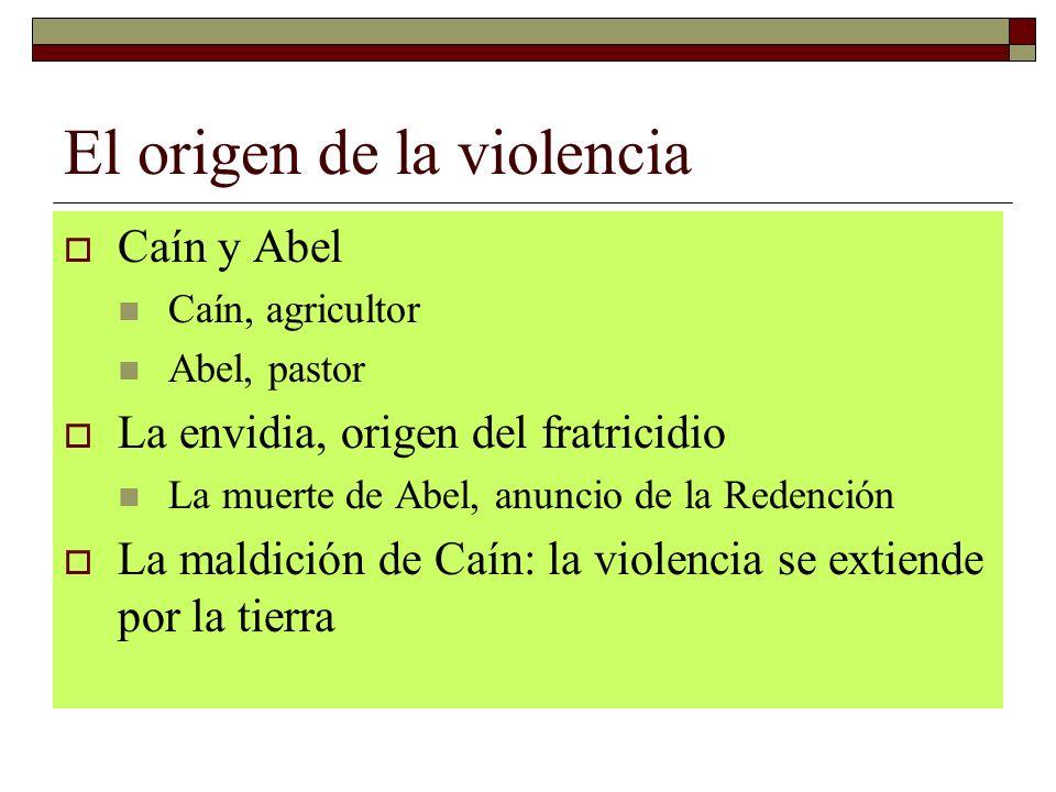 El origen de la violencia