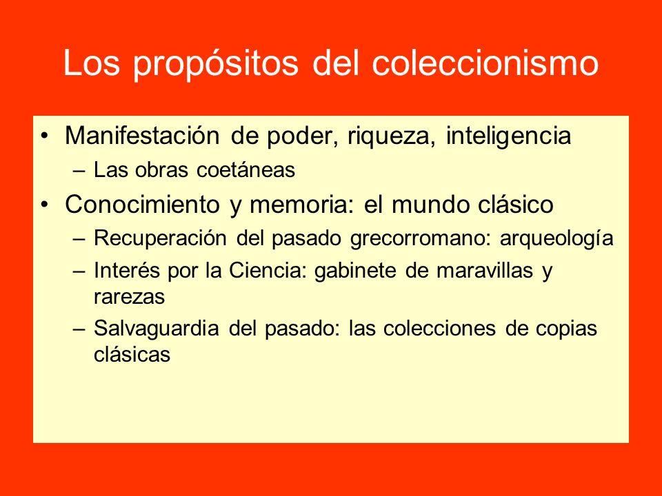 Los propósitos del coleccionismo