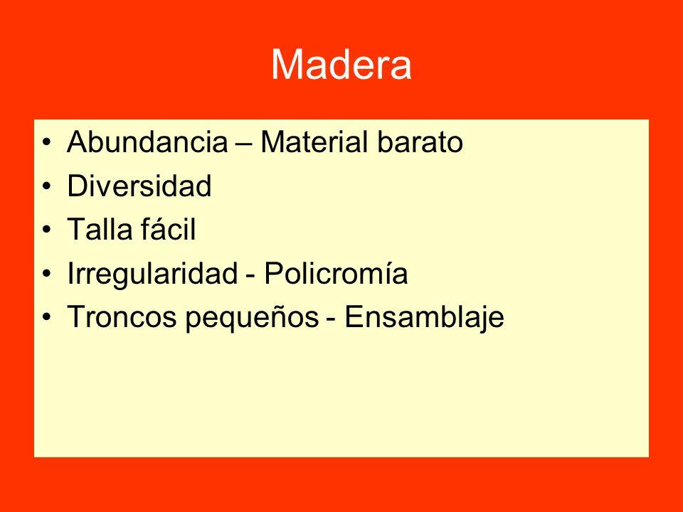 Madera Abundancia – Material barato Diversidad Talla fácil