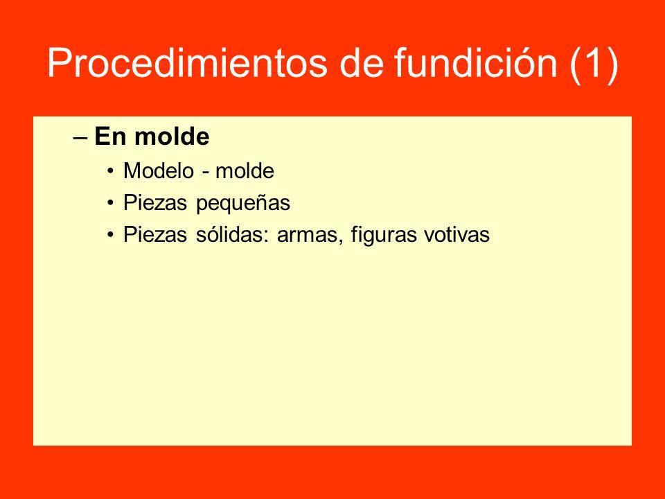 Procedimientos de fundición (1)