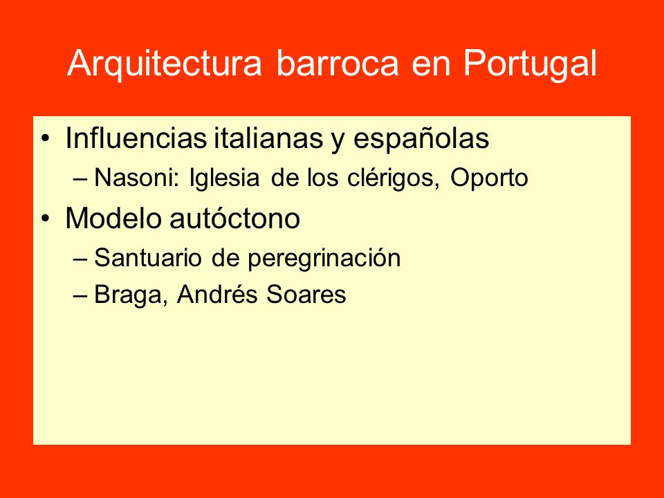 Arquitectura barroca en Portugal