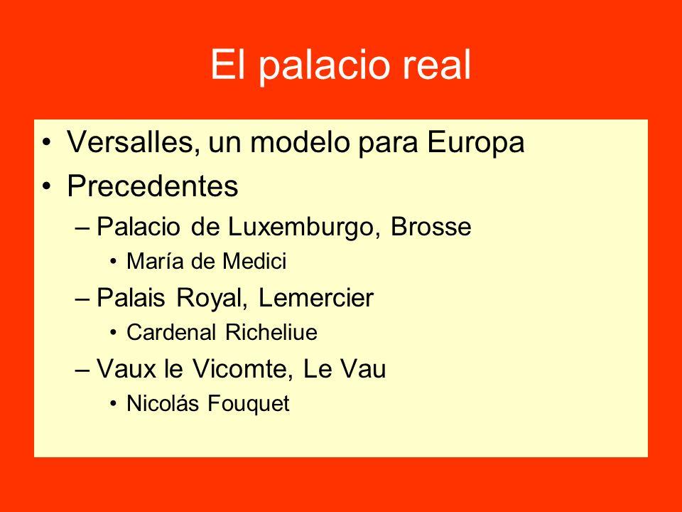El palacio real Versalles, un modelo para Europa Precedentes