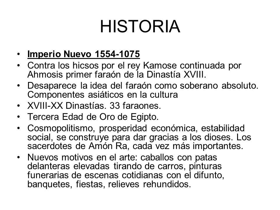 HISTORIA Imperio Nuevo 1554-1075