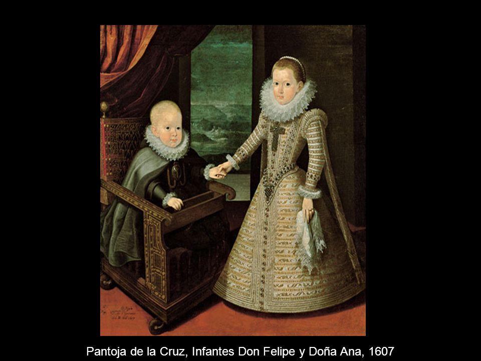 Pantoja de la Cruz, Infantes Don Felipe y Doña Ana, 1607