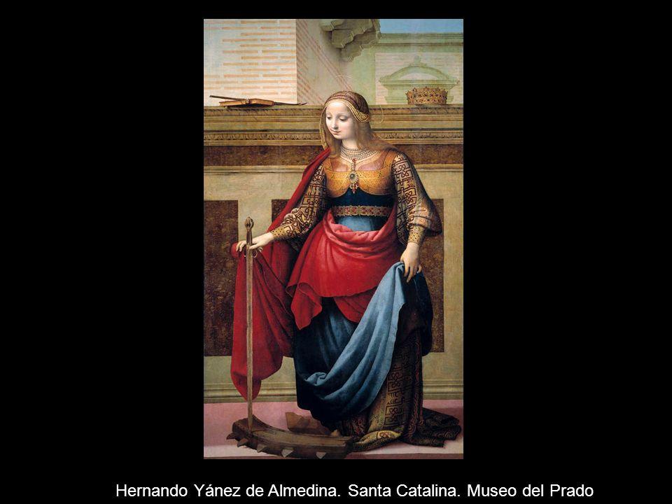 Hernando Yánez de Almedina. Santa Catalina. Museo del Prado