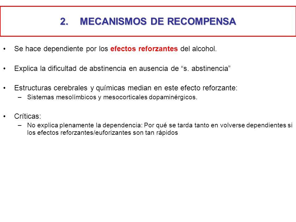 MECANISMOS DE RECOMPENSA