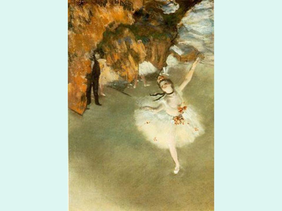 Impresionismo Degas. Bailarina