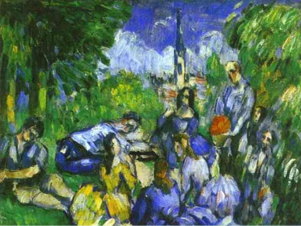 Posimpresionismo. Cezanne. Almuerzo en la hierba