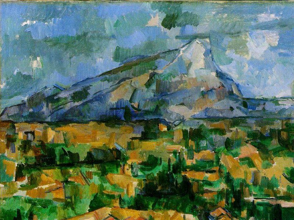 Posimpresionismo Cezanne. Santa Victoria