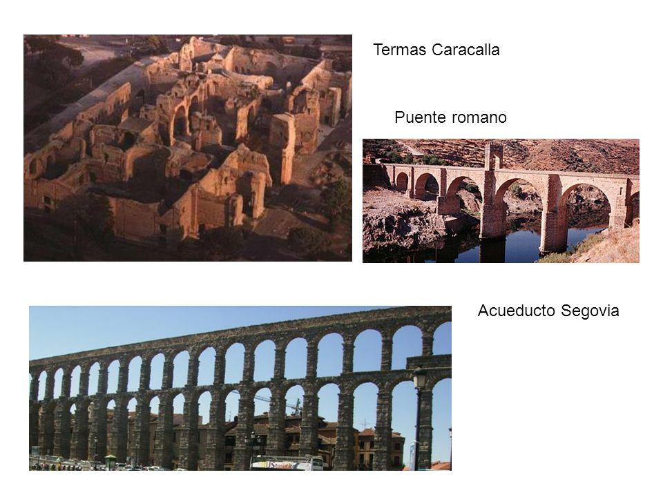 Termas Caracalla Puente romano Acueducto Segovia