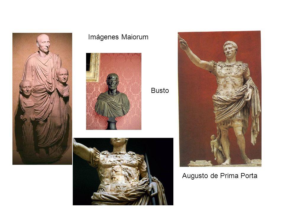 Imágenes Maiorum Busto Augusto de Prima Porta